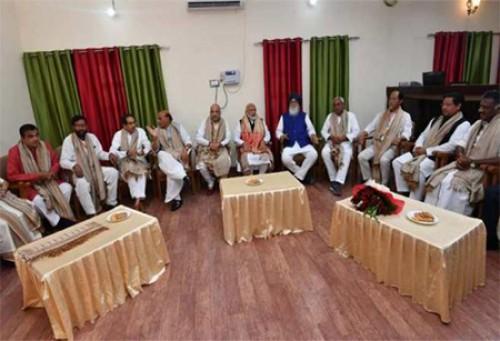 అమిత్ షా విందులో పాల్గోనున్న బీహార్ సీఎం