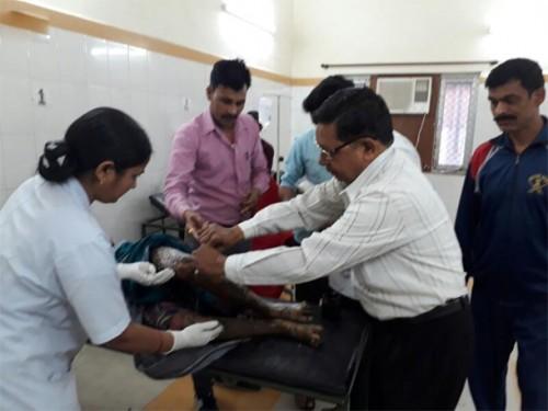 ఉత్తరప్రదేశ్లోని  బందాలో విషాదం