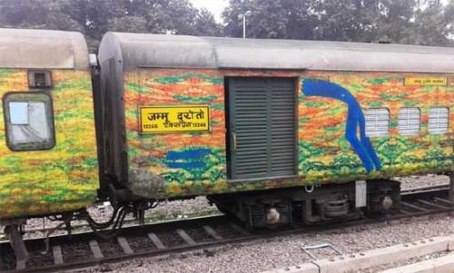 దురంతో ఎక్స్ప్రెస్లో దోపిడీ