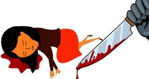 అనుమానంతో భార్యను అతికిరాతకంగా నరికి చంపేసిన భర్త