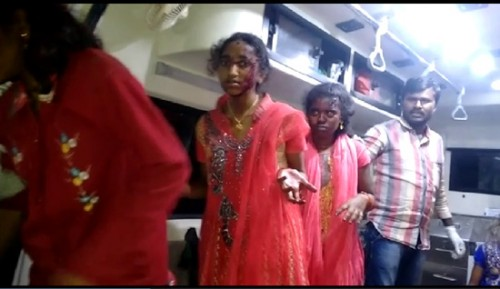 విహార యాత్రకు వెళ్లి తిరిగివస్తుండగా ఏపీలో బస్సు ప్రమాదాల్లో 40 విద్యార్థులకు గాయాలు: