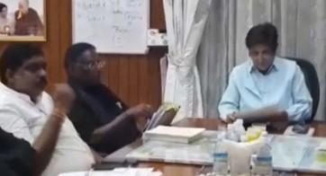 దీక్ష విరమించిన పుదుచ్చేరి సిఎం