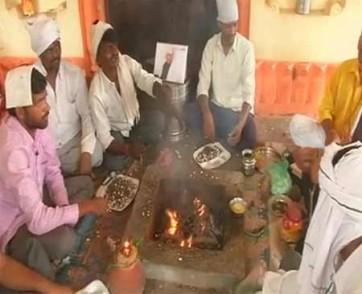 ఎన్డీఏ అభ్యర్థి గెలవాలని ప్రత్యేక పూజలు