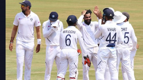 Indore Test: Indian pacers pick three to peg back B'desh
