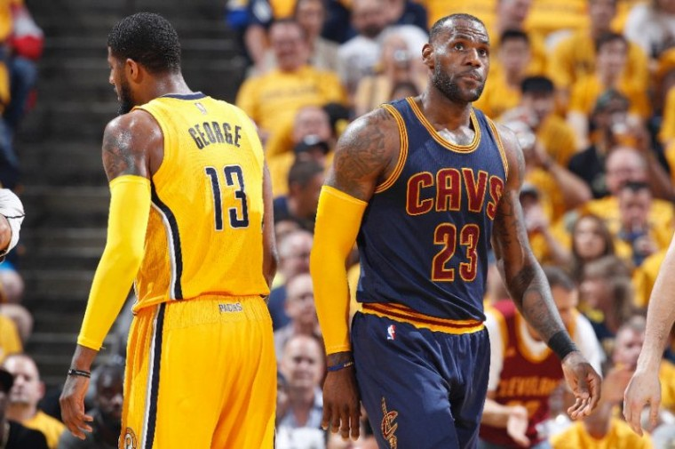 LeBron passes Bryant for third place in playoff scoring