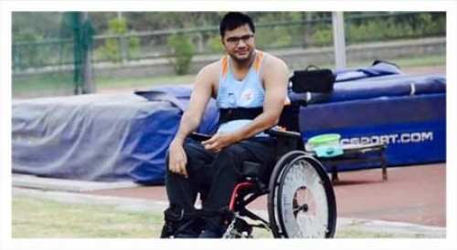 Amit Saroha achieved silver at World Para Athletics Championships