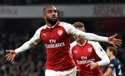 Arsenal striker Lacazette out for six weeks