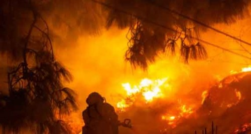 200 homes evacuated in S. California due to wildfire