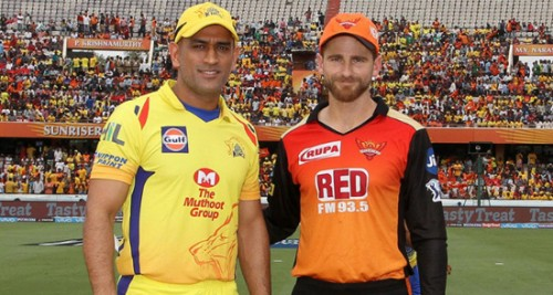 IPL 2018:Chennai won toss and elected to bowl vs Hyderabad