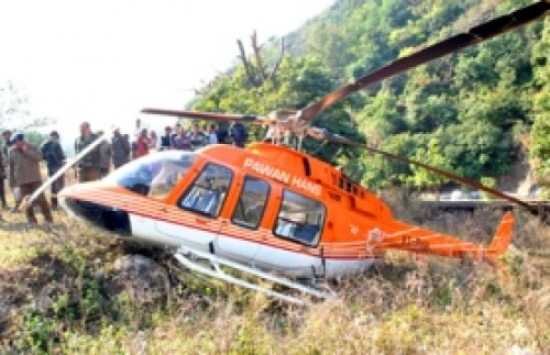 Pawan Hans chopper with seven crashes off Mumbai, 4 bodies found