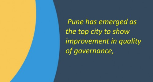 Pune tops in improved quality governance: Survey