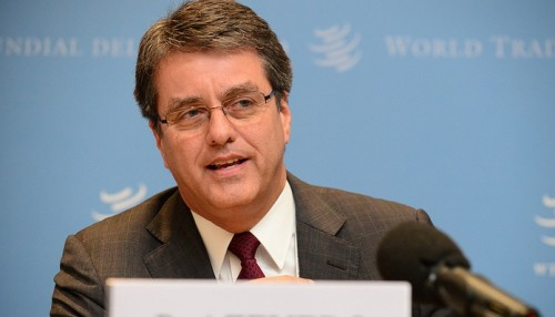 WTO Director-General calls for speaking up for global trade & trading system