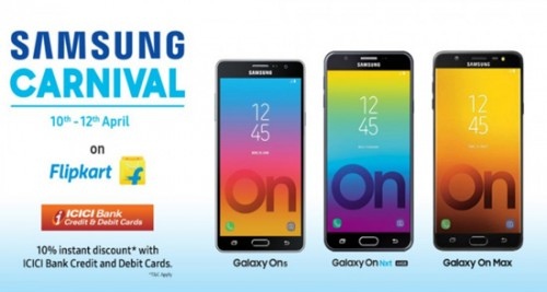 Select Samsung phones now on Flipkart with heavy discounts