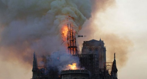 YouTube mistakenly links Notre Dame fire to 9/11