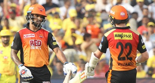 IPL 2018:SRH put decent total 179/4 against CSK