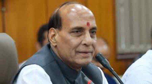 Centre working towards a permanent solution in Kashmir: Rajnath