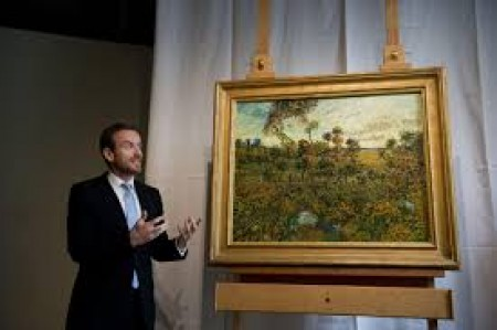 New Vincent van Gogh drawing unveiled in the Netherlands