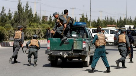 Afghan Information Ministry under attack in Kabul