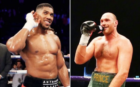 Anthony Joshua says he doesn't want Tyson Fury fight