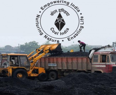 Coal India's net profit falls about 40% in Q2