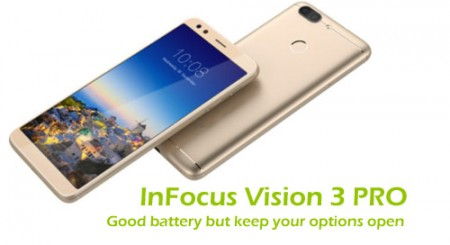 InFocus Vision 3 PRO: Good battery but keep your options open