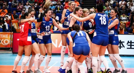 Serbia claims 1st-ever gold medal in Women's Volleyball Worlds