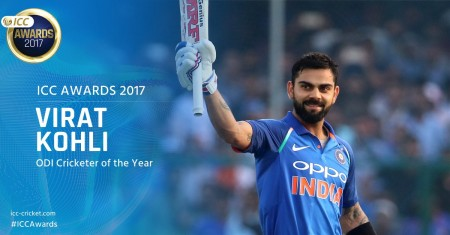 Kohli clinches top ICC awards