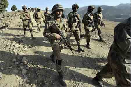 Pakistani forces kill terrorists in a major offensive: Army