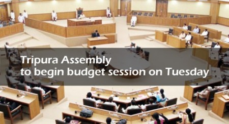 Tripura Assembly to begin budget session on Tuesday