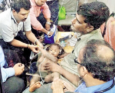 Andhra boy rescued from borewell after 11 hours