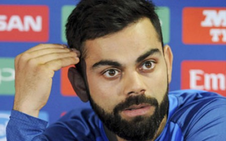 Kohli fined for breaching ICC code of conduct