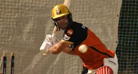 AB de Villiers has 'enjoyable' first net session ahead of IPL 13