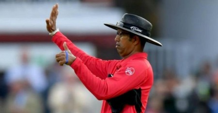Dharmasena admits to 'judgemental error' in World Cup final