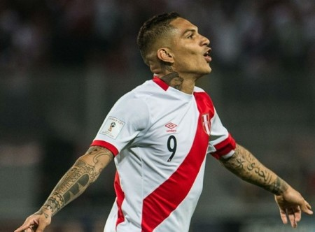 Peru's suspended star striker returns to training with Flamengo