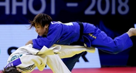 China claims silver on first day of IJF Grand Pix