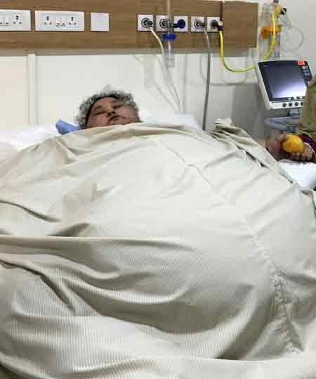 Former world heaviest woman passed away in Abu Dhabi