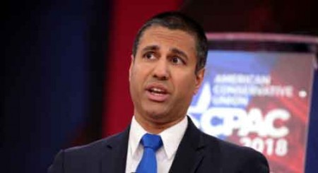 FCC head Ajit Pai welcomes move to boost 5G adoption in US