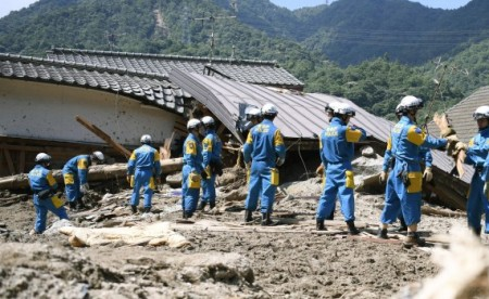 Japan floods: Search operation continues for missing people