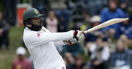 Proteas reach 123/4 vs New Zealand on rain-marred opening day