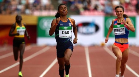 Celebs laud Hima Das for creating history for Indian athletics