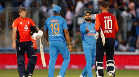 India cruise to eight-wicket win over England