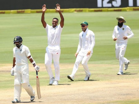 S. Africa beat India by 135 runs in 2nd Test