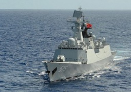 China commissions new missile frigate