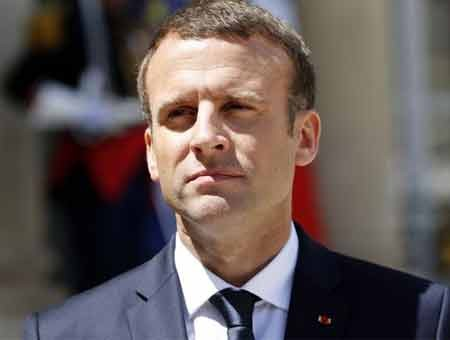 Macron calls for preserving Iranian nuclear deal