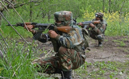 4 militants killed near LoC