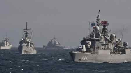 China, Russia conclude joint naval drills
