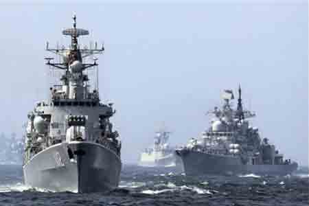 China and Russia conduct simulation exercise for joint naval drills
