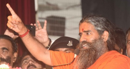 Give pension to 'elderly' JNU students: Ramdev