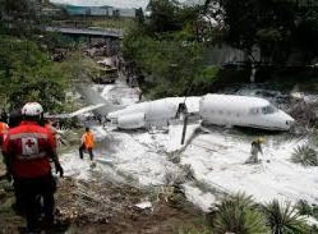 US-registered executive jet crashes in Honduras