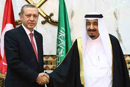 Erdogan, Saudi King discuss Qatari blockade amid mediation efforts